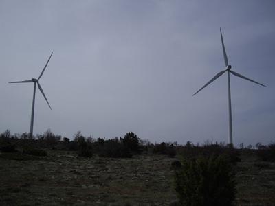 Molinos eólicos del Parque de Maranchón