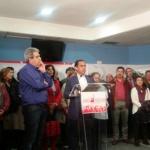 Muchos militantes socialistas conforman la plataforma de apoyo a Pedro Sánchez