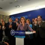 Cospedal vuelve a presentarse como presidenta regional