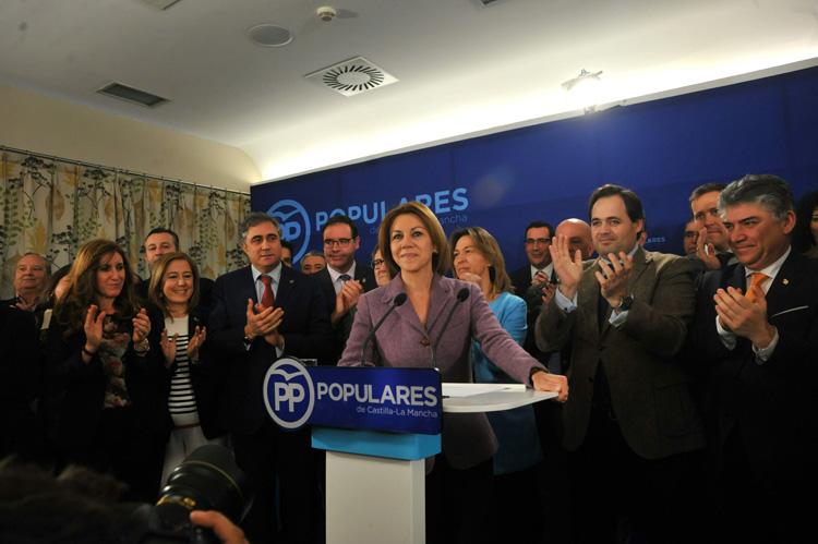 Cospedal quiere seguir liderando el PP en la región