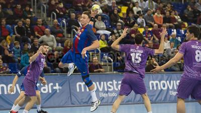 Buen partido del Quabit Guadalajara en Barcelona pese a volver con dos lesionados (Foto FC Barcelona)