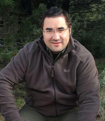 Agustín Rabadán, presidente de la Federación de Caza de Castilla–La Mancha, Agustín Rabadán