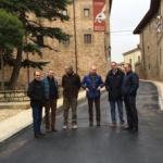 La Diputación renueva las redes y la pavimentación de la calle de Valencia en Sigüenza
