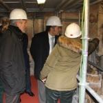 La catedral de Sigüenza recibe la visita del Delegado del Gobierno