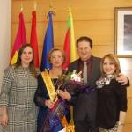 Las Águedas en Yunquera: Maruja Mur alcaldesa de honor