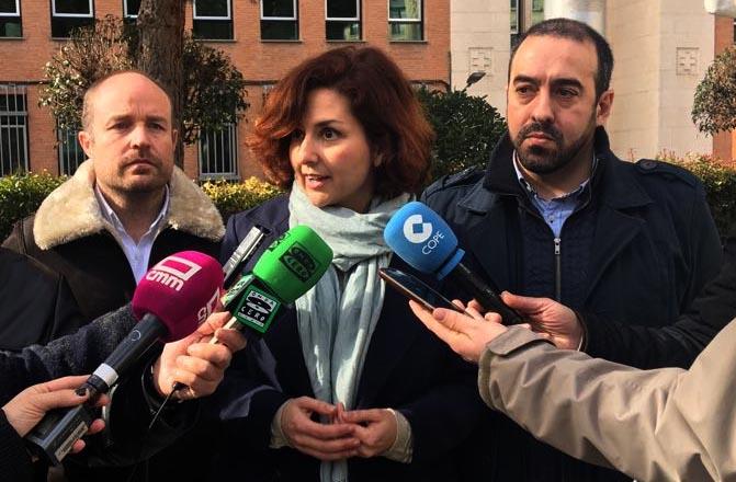 Rueda de prensa de Ciudadanos para analizar la situación creada en la Diputación y en El Casar