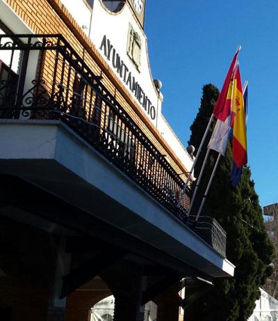 Fachada del Ayuntamiento de Azuqueca