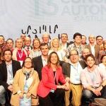 Cospedal ha sido reelegida presidenta del PP en la región con el 96% de los votos