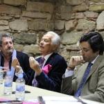 Palomo Linares y el ganadero Angel Moreno hablaron de toros en Sigüenza