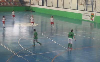 El FS Alovera sufrió y remontó un partido dificil