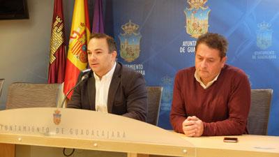 Rueda de prensa de Carnicero y Úbeda para anunciar las nuevas inversiones del ayuntamioento
