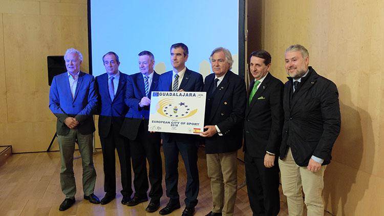 La capital ya es candidata oficial a ser ciudad europea del deporte en 2018