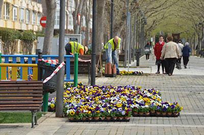 Comienza la campaña de primavera en Azuqueca