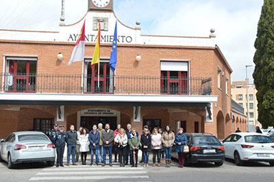 Un momento de la concentración. Fotografía: Álvaro Díaz Villamil/ Ayuntamiento de Azuqueca de Henares