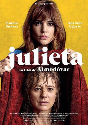 Julieta, de Pedro Almodovar, va a ser proyectada este fin de semana