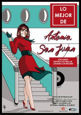Cartel de la obra 'Lo mejor de Antonia San Juan'