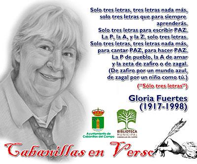 Gloria Fuertes será recordada en Cabanillas en el Día Mundial de la Poesía