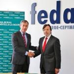 Caja Rural CLM y FEDA renuevan su convenio social