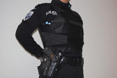 Los nuevos chalecos antibalas de la Policia Local de Guadalajara