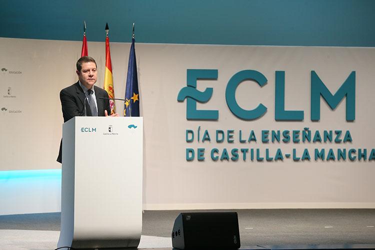 Intervención de García Page en el Día de la Enseñanza celebrado en Talavera de la Reina
