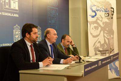 Rueda de prensa de presentación de los actos dedicados al centenario de José Luis Sampedro