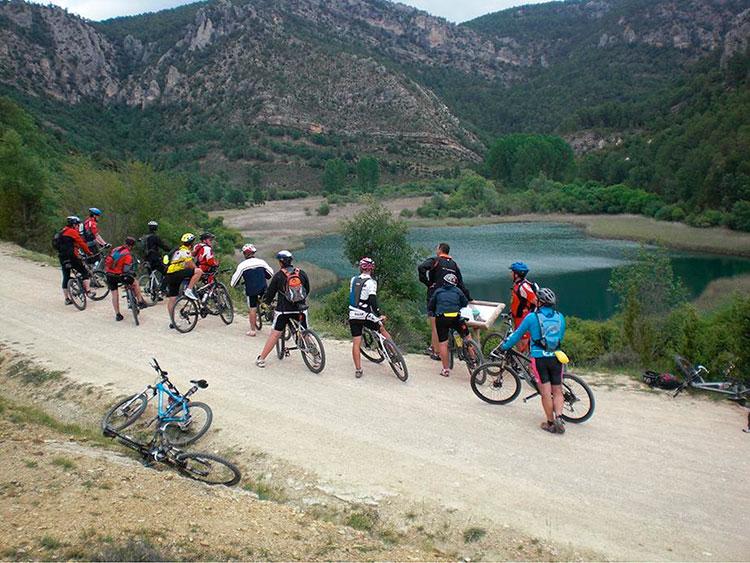 Ciclismo de montaña en el Geoparque de Molina Alto Tajo