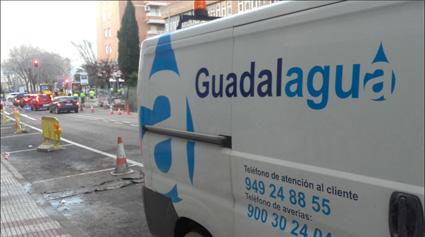 Mañana habrá varios cortes de agua en la zona de la Calle Sigüenza