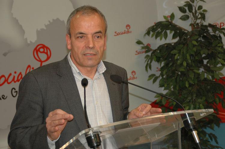Julio García, portavoz socialista en la Diputación