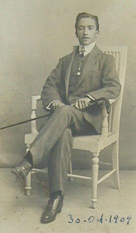 Francisco Layna Serrano en 1909