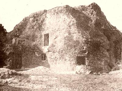 La Casa de Piedra, en 1925