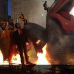 Entierro de la Sardina y quemada en la hoguera