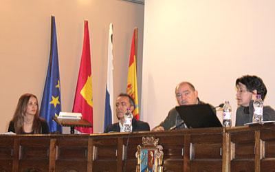 La mesa de ponentes en esta jornada dinamizadora del turismo en la comarca de Molina