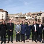 La Junta concluye las obras en el paseo de los Adarves de Molina de Aragón