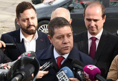 García-Page, ha mostrado hoy su satisfacción por la futura macroinversión cercana a los 190 millones de euros