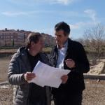 Avanzan a buen ritmo las obras del Parque de La Salinera