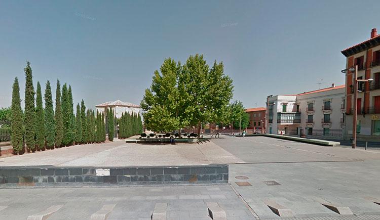Vista de la actual Plaza de los Caídos (Foto: Google Maps)