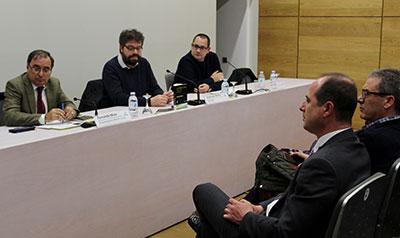 """Un momento de la presentación del libro """"La España vacía"""""""