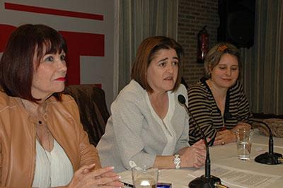 Acto del PSOE con ocasión del Día Internacional de la Mujer