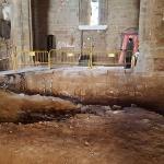 Las excavaciones arqueológicas abren nuevas perspectivas en la iglesia de Santiago de Sigüenza