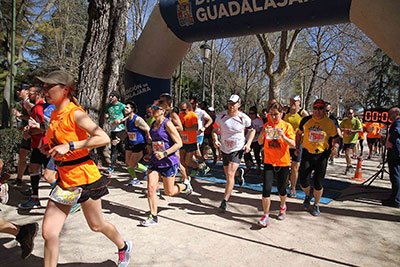 Buena jornada en Siguenza para correr