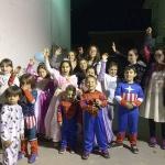 Los más pequeños, principales protagonistas del divertido Carnaval de Yebra