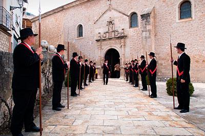 Budia, Los Soldados de Cristo (Foto: Servicio de Turismo de la Diputación de Guadalajara)