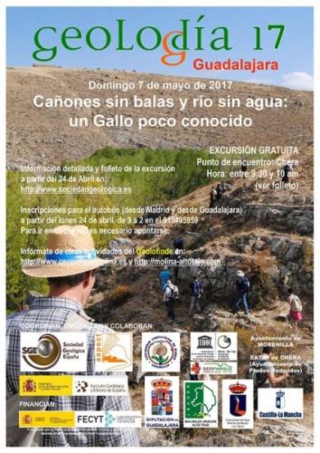 El Geolodía se celebrará el próximo domingo día 7 entre Chera y Morenilla