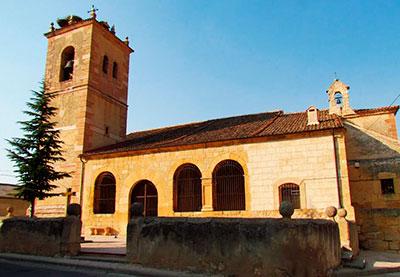 Iglesia de San Félix, en Muñoveros, donde se cree está sepultado Juan Bravo