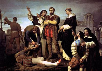 Antonio Gisbert, la ejecución de los Comuneros