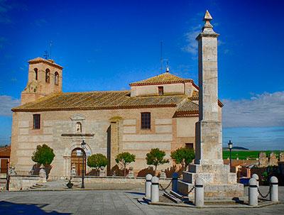 Villalar. Obelisco en memoria de los Comuneros