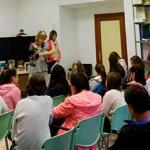 Alumnos del colegio Virgen de la Hoz de Molina participan en un maratón de lectura