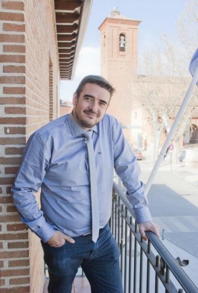 El secretario de Organización del PSOE de Guadalajara, en una foto de archivo. // Foto: Ayto. Machamalo.