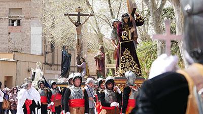Sigüenza sigue siendo un buen atractivo turístico incluso en Semana Santa