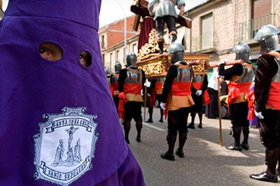"""""""Los Armaos"""" de Sigüenza (Foto: Servicio de Turismo de la Diputación de Guadalajara)"""
